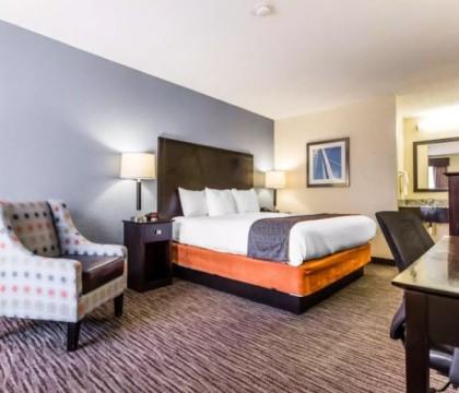 Quality Inn Mt Pleasant Charleston - King Room